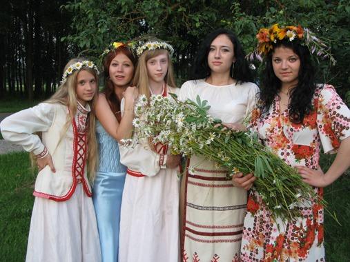 Участники праздника из аг. Октябрьская