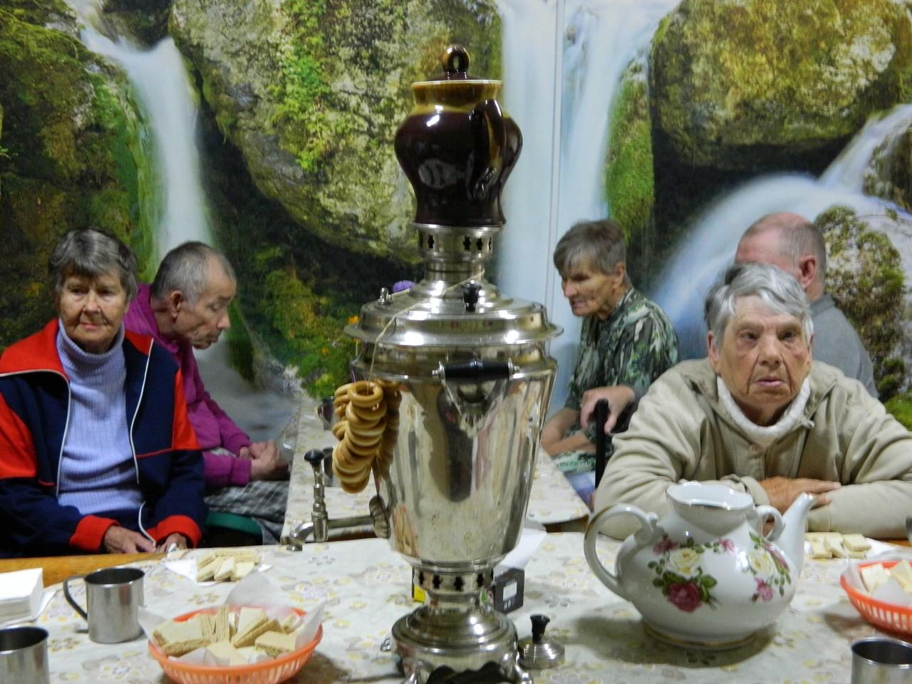 Чаепитие на День пожилого человека